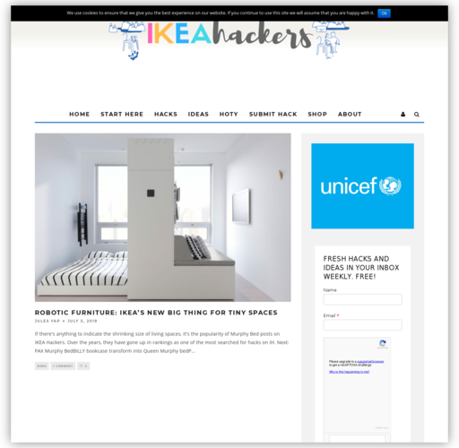 IKEA Hackers respect!