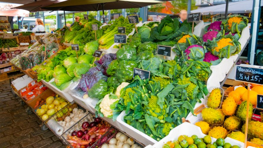 都筑野菜の朝市