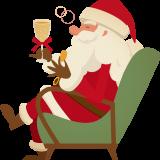 サンタさんが来るよ~♬